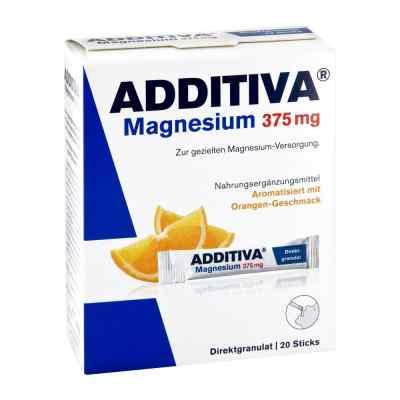 Additiva Magnez  375 mg saszetki, smak pomarańczowy