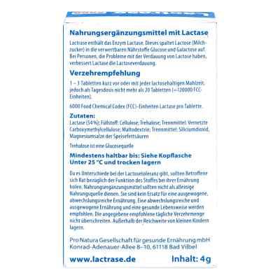 Lactrase 6.000 Fcc Tabletten im Klickspender  zamów na apo-discounter.pl