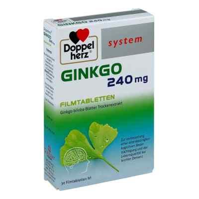 Doppelherz Ginkgo 240 mg system tabletki powlekane  zamów na apo-discounter.pl