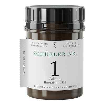 Schüssler Nummer 1 Calcium fluoratum D12 tabletki  zamów na apo-discounter.pl
