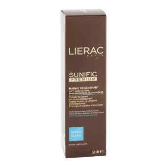 Lierac Sunific Apres balsam ochronny do twarzy i szyi