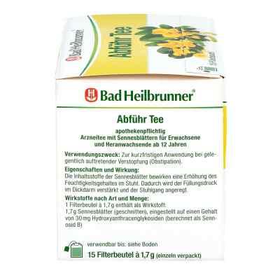 Bad Heilbrunner Abführ Tee Filterbeutel  zamów na apo-discounter.pl