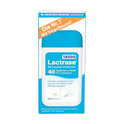 Lactrase 18.000 Fcc Tabletten im Spender