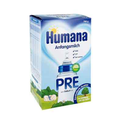 Humana Anfangsmilch Pre Lcp+gos Pulver