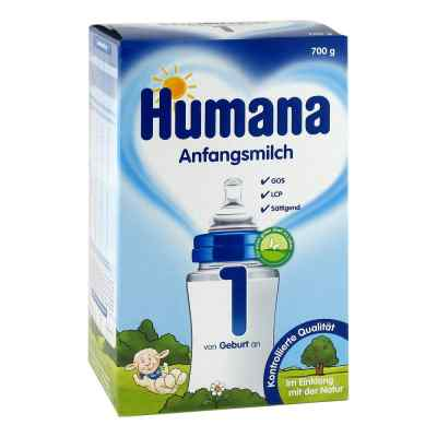 Humana Anfangsmilch 1 Lcp+gos Pulver