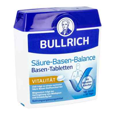Bullrich Säure-Basen rónowaga kwasowo-zasadowa tabletki