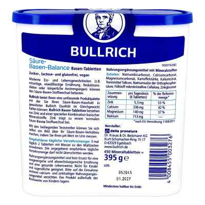Bullrich Säure-Basen równowaga kwasowo-zasadowa tabletki  zamów na apo-discounter.pl