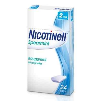 Nicotinell Spearmint 2 mg Kaugummi  zamów na apo-discounter.pl