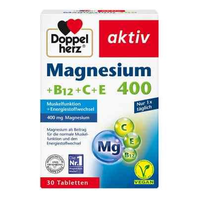 Doppelherz Magnez 400 +wit. B12+C+E tabletki  zamów na apo-discounter.pl
