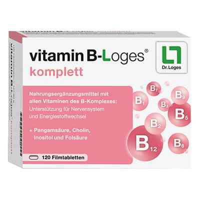 Vitamin B-loges komplett w tabletkach powlekanych  zamów na apo-discounter.pl