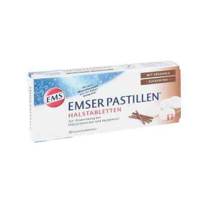 Emser pastylki z solą emską bez mentolu o smaku lukrecji  zamów na apo-discounter.pl