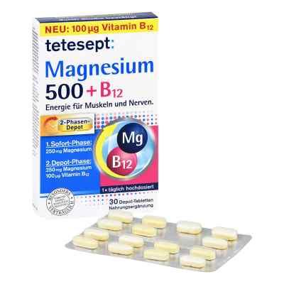 Tetesept Magnesium 500+b12 Depot Tabletten  zamów na apo-discounter.pl