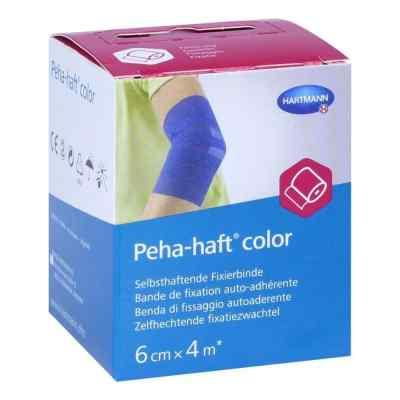 Peha-haft Color 6 cmx4 m bandaż mocujący niebieski  zamów na apo-discounter.pl