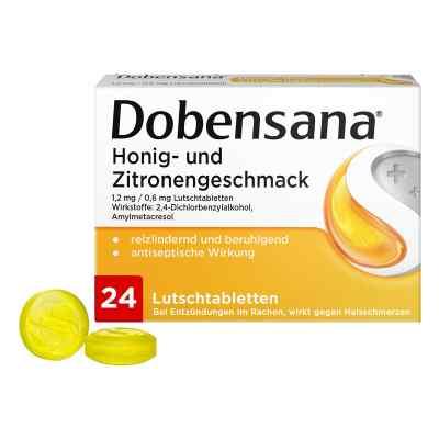Dobensana Honig-u.zitronengeschm.1,2mg/0,6mg Lut.