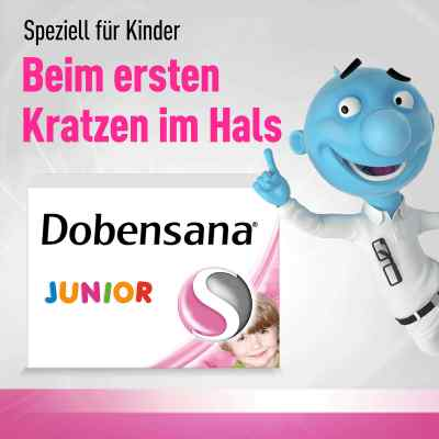 Dobensana Junior 1,2 mg/0,6 mg Lutschtabletten  zamów na apo-discounter.pl