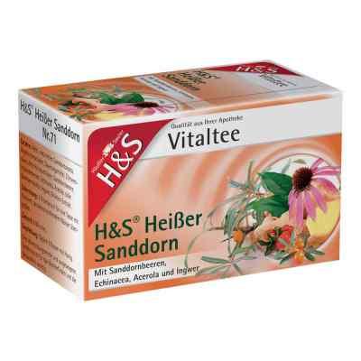 H&s Heisser Sanddorn Vitaltee Filterbeutel  zamów na apo-discounter.pl