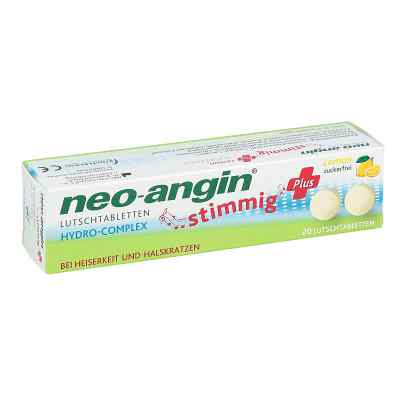 Neo Angin stimmig Plus Lemon Lutschtabletten
