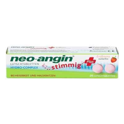 Neo Angin stimmig Plus Erdbeer Lutschtabletten  zamów na apo-discounter.pl