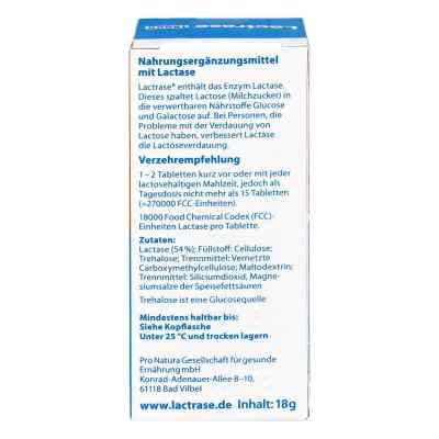Lactrase 18.000 Fcc Tabletten im Spender Doppelpa.