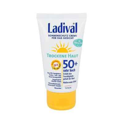 Ladival krem ochronny do twarzy, skóra sucha Lsf 50+  zamów na apo-discounter.pl