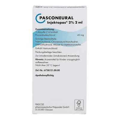 Pasconeural Injektopas 2% Ampullen 2 ml  zamów na apo-discounter.pl