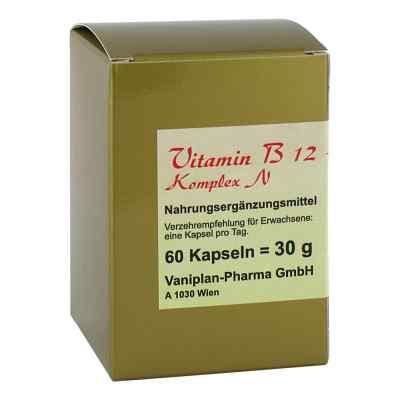 Vitamin B12+b6+folsäure Komplex N Kapseln  zamów na apo-discounter.pl