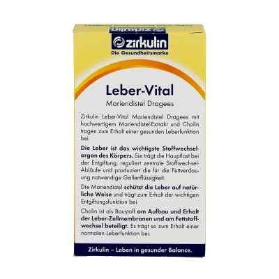 Zirkulin Leber-Vital Drażetki na wątrobę z ostropestu plamistego  zamów na apo-discounter.pl