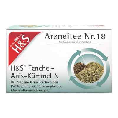 H&s Fenchel-anis-kümmel N Herbata ziołowa na dolegliwości żołądk  zamów na apo-discounter.pl