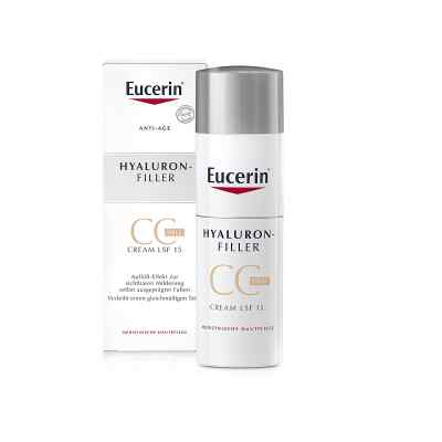 Eucerin Anti-Age Hyaluron-filler krem CC, jasny