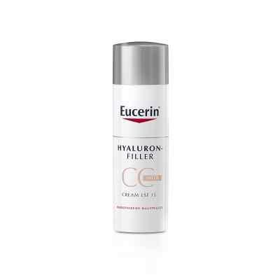 Eucerin Anti-Age Hyaluron-filler krem CC, średni