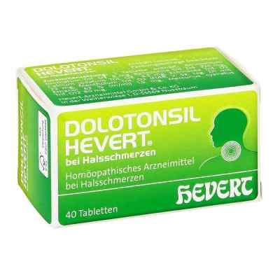 Dolotonsil Hevert bei Halsschmerzen Tabletten  zamów na apo-discounter.pl