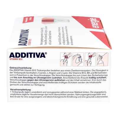 Witamina B12 Additiva - ampułki do picia
