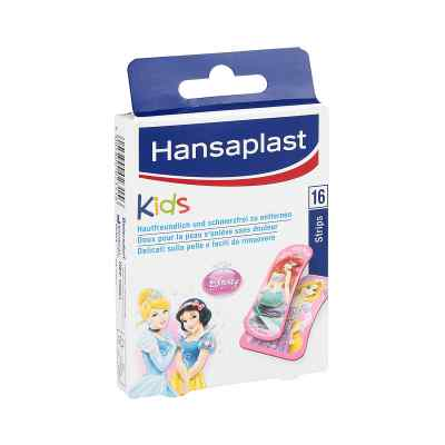 Hansaplast Junior Princess Strips  zamów na apo-discounter.pl
