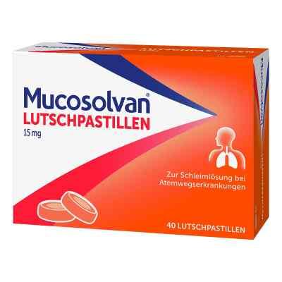 Mucosolvan Lutschpastillen 15 mg
