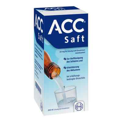 Acc Saft 20 mg/ml Lösung zum Einnehmen