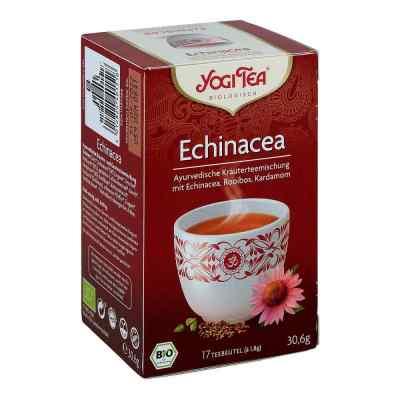 Yogi Tea herbata z jeżówką bio saszetki 17X1.8 g od TAOASIS GmbH Natur Duft Manufakt PZN 11297368