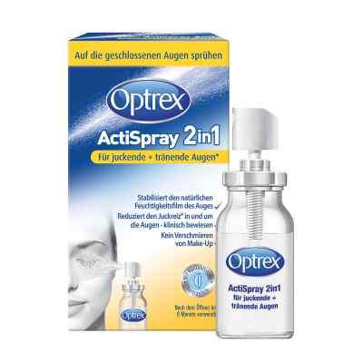 Optrex Actispray 2in1 für juckende+tränende Augen