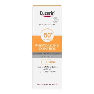 Eucerin Sun krem tonujący CC SPF 50+ odcień jasny  zamów na apo-discounter.pl