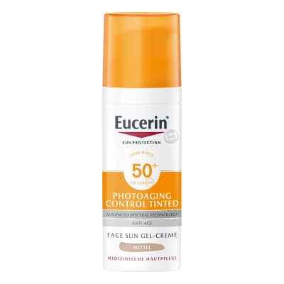 Eucerin Sun krem tonujący CC SPF 50+ odcień średni  zamów na apo-discounter.pl