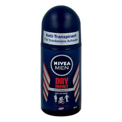 Nivea Men Deo Roll-on dry comfort  zamów na apo-discounter.pl
