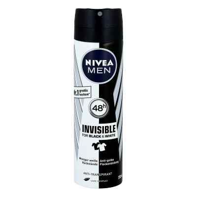 Nivea Men Deo Spray invisible black & white power