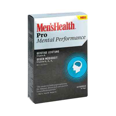 Men's Health Pro Mental Performance Kapseln  zamów na apo-discounter.pl