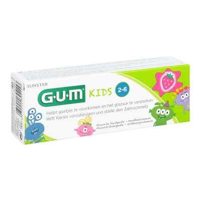 Gum Kids 2-6 pasta do zębów dla dzieci truskawkowa  zamów na apo-discounter.pl