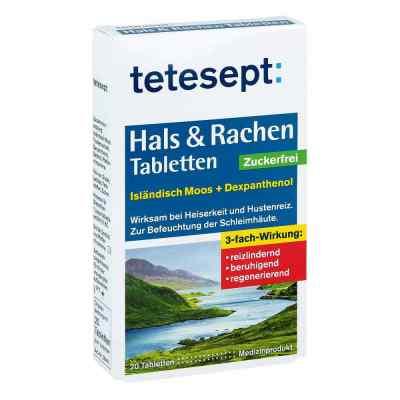 Tetesept Hals & Rachen tabletki bez cukru  zamów na apo-discounter.pl