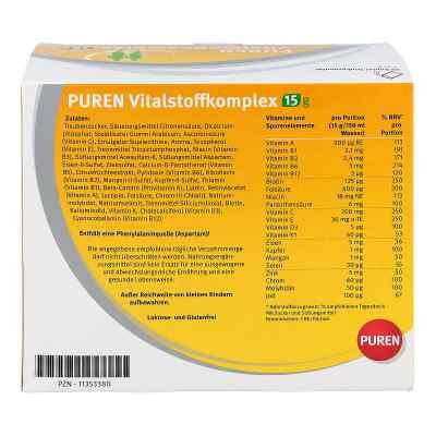Puren Vitalstoffkomplex Beutel a 15 g Granulat  zamów na apo-discounter.pl
