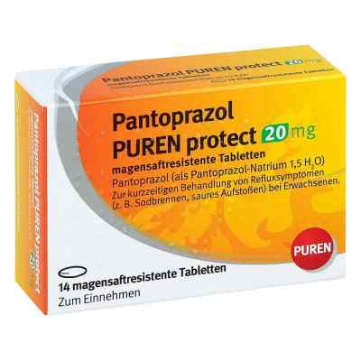Pantoprazol Puren protect 20 mg magensaftresistent   Tabletten   zamów na apo-discounter.pl