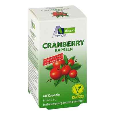 Cranberry Vegan Kapseln 400 mg  zamów na apo-discounter.pl