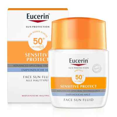 Eucerin Sun ochronny fluid matujący Lsf 50+  zamów na apo-discounter.pl