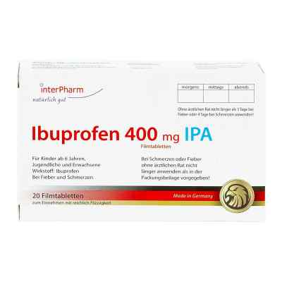Ibuprofen 400 mg IPA tabletki powlekane  zamów na apo-discounter.pl