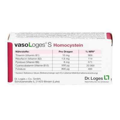 Vasologes S Homocystein Dragees